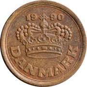 25 Øre - Margrethe II -  obverse