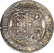 1 Sølvgylden - Christian III (Flensborg Mint) – reverse