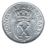 2 Øre - Christian X (German Occupation) -  obverse