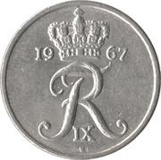 10 Øre - Frederik IX -  obverse