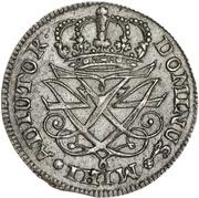12 Skilling Dansk - Frederik IV – obverse