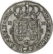 12 Skilling Dansk - Frederik IV – reverse