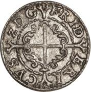 1 Hvid - Frederik II  (Frederiksborg mint) – reverse