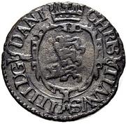 1 Søsling - Christian IV – reverse