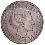 5 Kroner - Margrethe II -  obverse