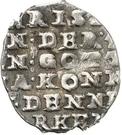 2 Skilling Lybsk - Christian IV (Wire money) – reverse