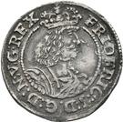1/16 Thaler - Frederik III (Roman style bust) – obverse