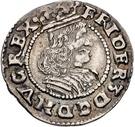 1/16 Thaler - Frederik III (Armored bigger bust) – obverse