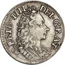 8 Skilling Dansk - Frederik IV (Type II) – obverse