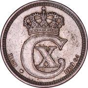 10 Øre - Christian X -  obverse