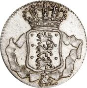 1 Skilling Dansk - Frederik V -  obverse