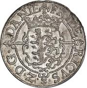1 Skilling Dansk - Frederik II (Frederiksborg mint) – obverse