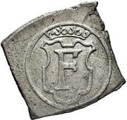 1 Mark - Frederik II (Seven-Years War coinage) – obverse