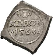 1 Mark - Frederik II (Seven-Years War coinage) – reverse