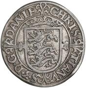 2 Skilling Dansk - Christian III (Copenhagen mint) – obverse