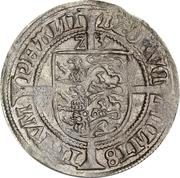 Lejrskilling / 10 Hvid - Frederik I (Roskilde mint) – reverse