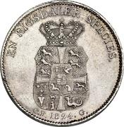 1 Speciedaler - Frederik VI – reverse