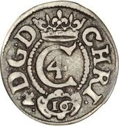 3 Skilling Lybsk - Christian IV – obverse