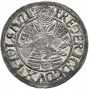 2 Schilling - Frederik I (Gottorp mint) – obverse