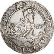 ½  Sølvgylden - Christian III (Flensborg Mint) – obverse