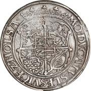 ½  Sølvgylden - Christian III (Flensborg Mint) – reverse