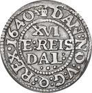 1/16 Reichs Thaler - Christian IV (type I) – reverse