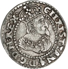 1/16 Reichs Thaler - Christian IV (type II; bust type II) – obverse