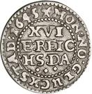 1/16 Reichs Thaler - Christian IV (type II; bust type II) – reverse