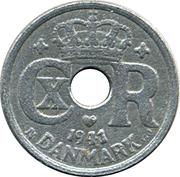 10 Øre - Christian X (German Occupation) -  obverse