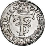 4 Mark Dansk - Frederik III (Type II) – obverse
