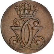 1 Skilling Dansk - Christian VII -  obverse