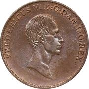1 Speciedaler - Frederik VI (Copper pattern strike) – obverse