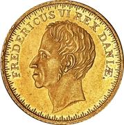 2 Frederiks d'Or - Frederik VI (Type 1) – obverse