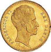 2 Frederik d'Or - Frederik VI (Type 3) – obverse