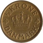 ½ Krone - Christian X -  reverse