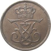 1 Øre - Frederik VIII – obverse
