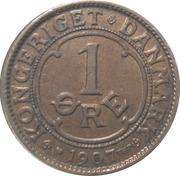 1 Øre - Frederik VIII – reverse