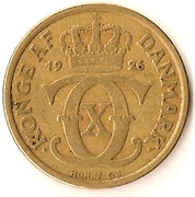 1 Krone - Christian X -  obverse