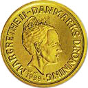 20 Kroner - Margrethe II (3rd portrait) -  obverse