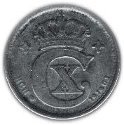 2 Øre - Christian X – obverse