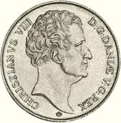 1 Speciedaler - Christian VIII – obverse