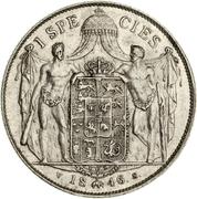 1 Speciedaler - Christian VIII – reverse