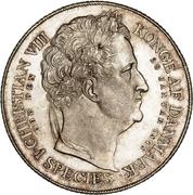 1 Speciedaler - Frederik VII (Death and Accession) – reverse