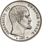 1 Rigsbankdaler - Frederik VII – obverse