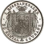 1 Rigsbankdaler - Frederik VII – reverse