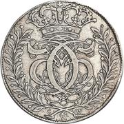 2 Mark Dansk - Christian V (Type II; laurel wreath) – obverse