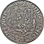 1 Sølvgylden - Christian II (Malmo Mint) – obverse