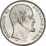 """1 Speciedaler """"Våbenspecie"""" - Frederik VII – obverse"""