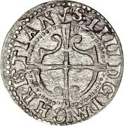 1 Hvid - Christian IV – obverse
