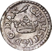 2 Skilling Dansk - Christian IV – obverse